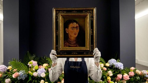 Could this Frida Kahlo portrait smash auction records and how much will it sell for?