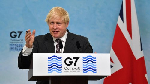 Boris Johnson confirms G7 to donate one billion COVID-19 vaccine doses by end of 2022