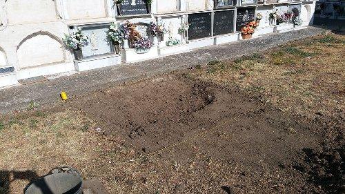 Jimena prepara con la Diputación y la Mancomunidad nuevas excavaciones en el cementerio
