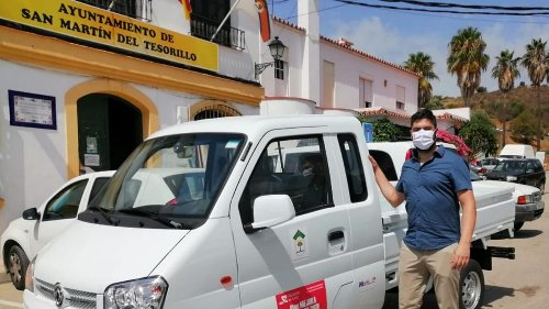 Tesorillo incorpora un nuevo vehículo para el personal de Obras, Parques y Jardines