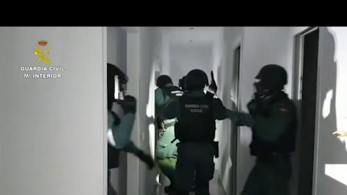 La Guardia Civil desarticula seis tramas del narcotráfico con 106 detenidos en el Campo de Gibraltar