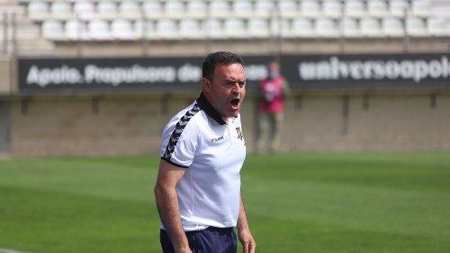 """Salmerón: """"El Algeciras nos superó y nos ganó en intensidad"""""""