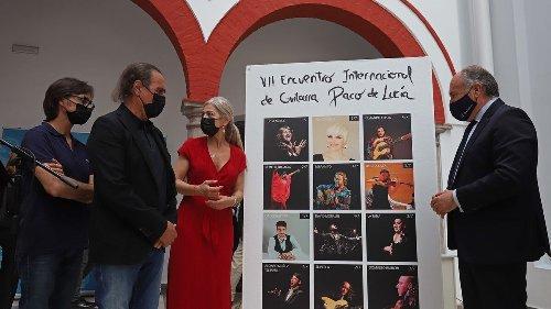 José Mercé y Pasión Vega actuarán en el VII Encuentro de Guitarra Paco de Lucía