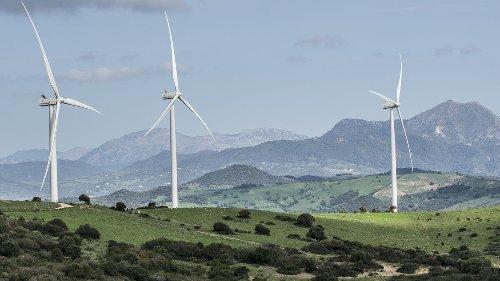 El parque eólico de Naturgy en Tesorillo, a pleno rendimiento tras seis meses de actividad
