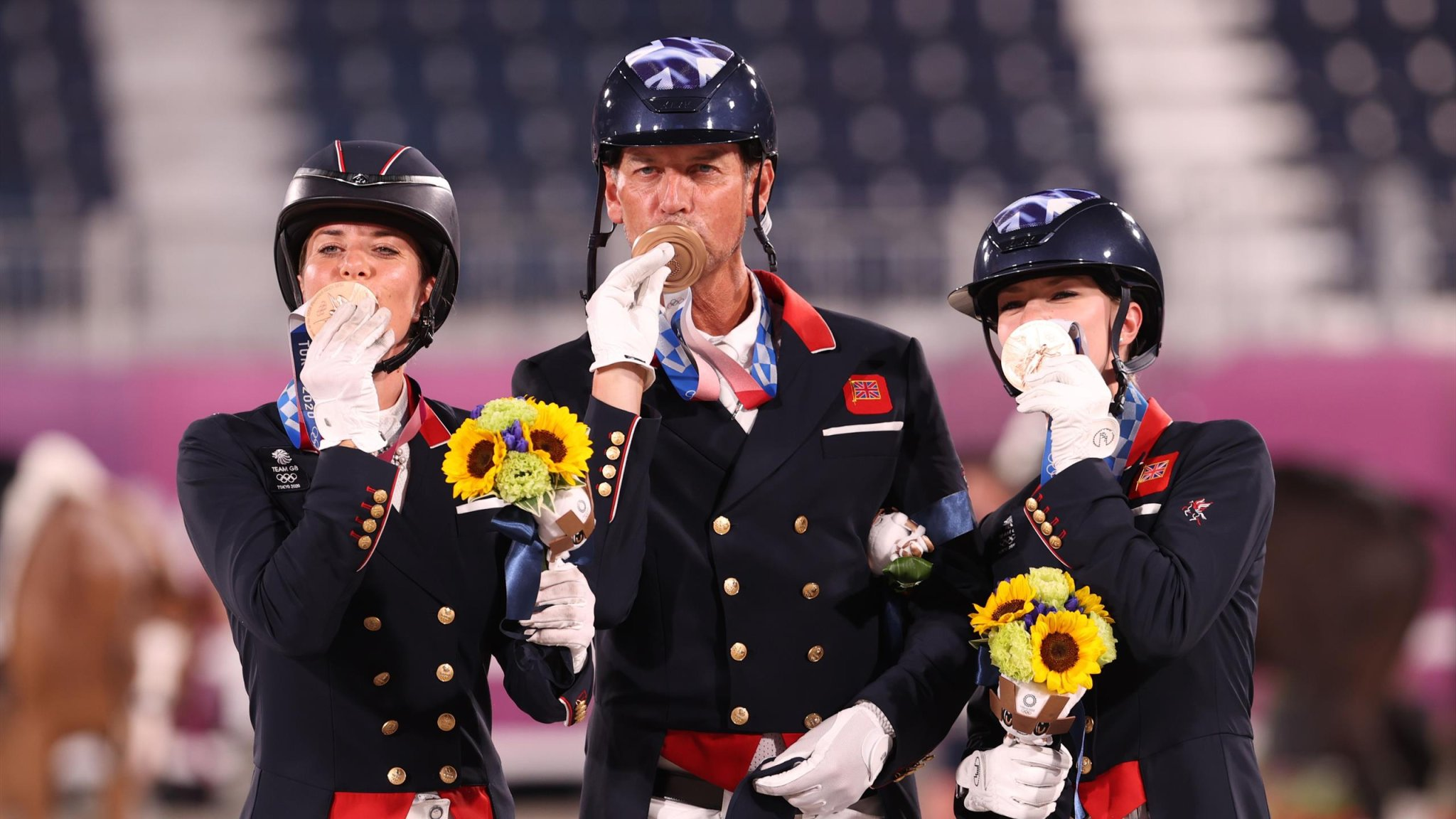 Tokyo 2020 - Team GB settle for bronze as Germany beat USA to gold in high-quality team dressage final