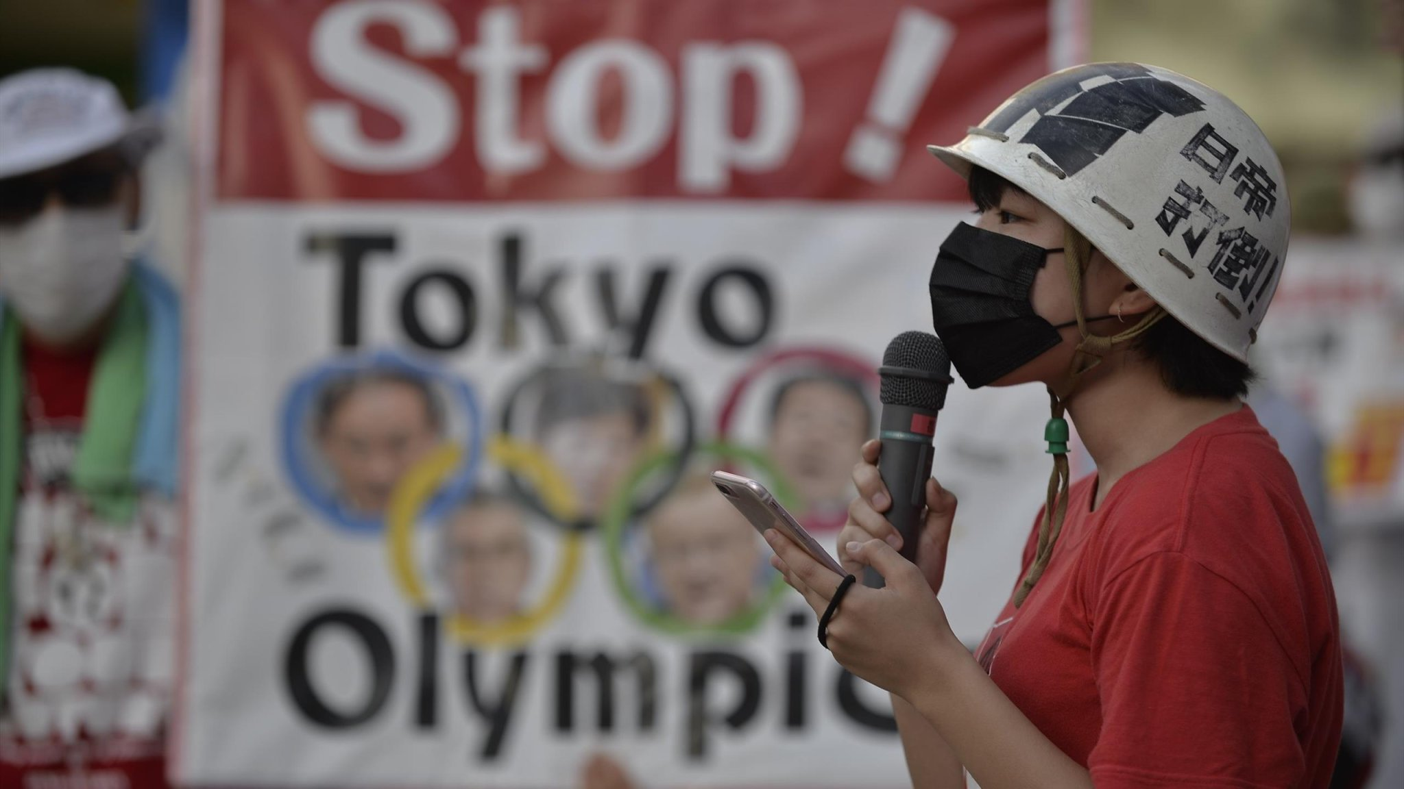 Anti-Olympic protests outside National Stadium 'audible' during Opening Ceremony