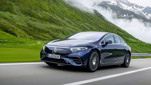 Driven: Mercedes-EQ EQS450+ - EV Central