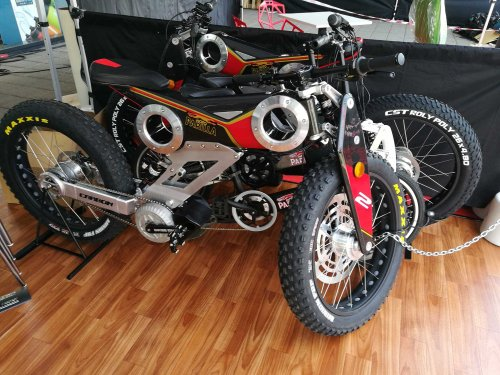 Bikee Bike midmotor conversion kit on Eurobike