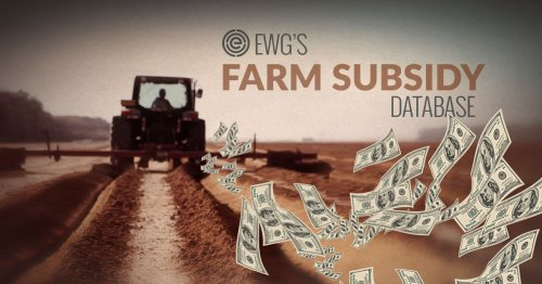 EWG's Farm Subsidy Database