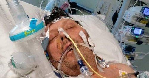 Dad's Covid turmoil as he still battles virus after 125 days in hospital