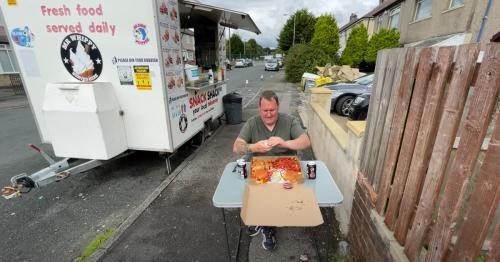 Danny Malin blown away by kebab takeaway set up outside house