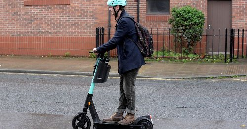 Police warn e-scooters face £300 fine for use on road or pavement