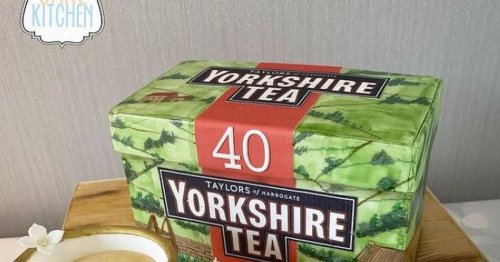 Yorkshire Tea fans cannot believe this is actually a cake