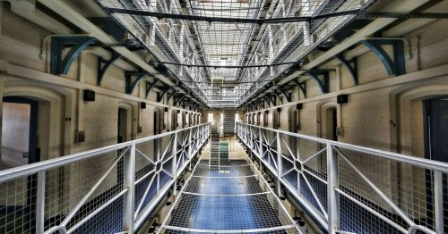 Stay overnight inside actual prison with cells and security guards