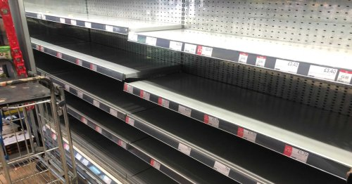Boris Johnson warns supermarket shelves could be empty for months