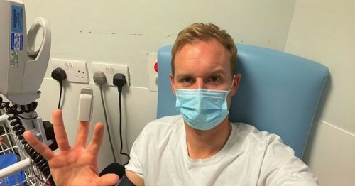 Dan Walker rushed to hospital hours before new Strictly series
