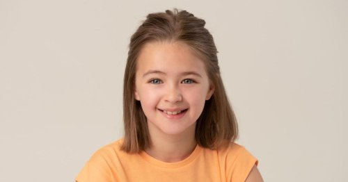 Girl first spotted by talent scout in Asda is to star in her first film
