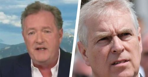 Backlash over Piers Morgan slams Prince Andrew's funeral request