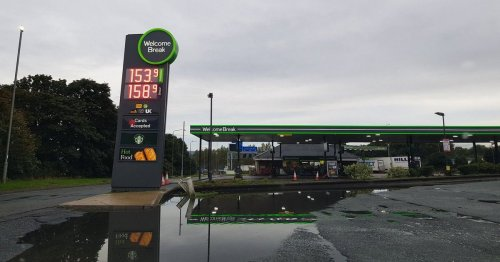 M62 services run out of petrol and diesel despite eyewatering price