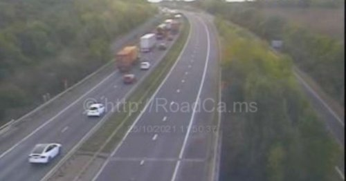 Live updates as serious crash on A1 causes huge queues and big delays
