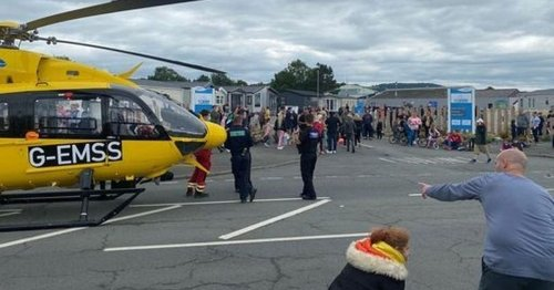 Tragedy as girl, 15, dies after 'domestic disturbance' at holiday park