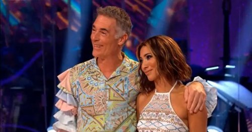 Strictly's Greg voted out and fans are all saying the same thing