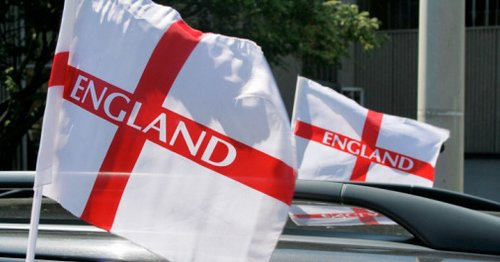 You could be fined £1,000 for flying an England flag on your car