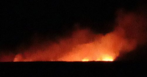 Barbecuing sunseekers cause huge moorland fire near Sheffield