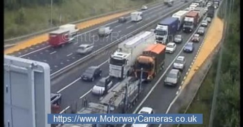 Drivers stuck in eight miles of gridlocked M62 chaos demand answers