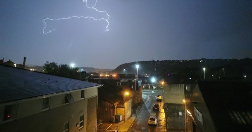 When intense thunderstorms are set to hit every part of Yorkshire