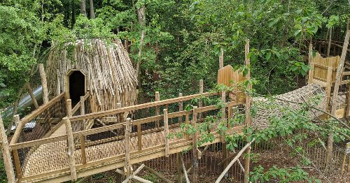 Inside the magic Skelf Island - the treetop paradise for children