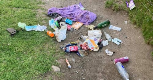 Fury as Yorkshire's hidden beach littered with dirty nappies and BBQs