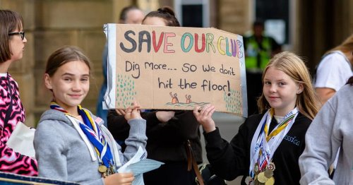 Anger as new pool plan could see the end of talented swimming club