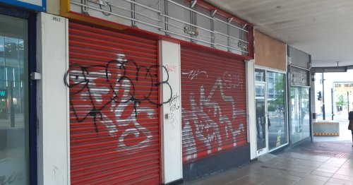 We counted the number of empty shops in Sheffield city centre