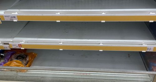 We visited Huddersfield's supermarkets to see what's missing from shelves