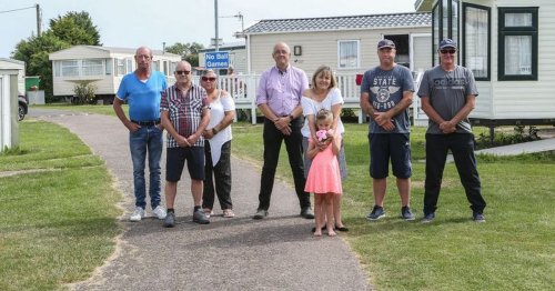 Group of angry caravan owners take council to court over rule change