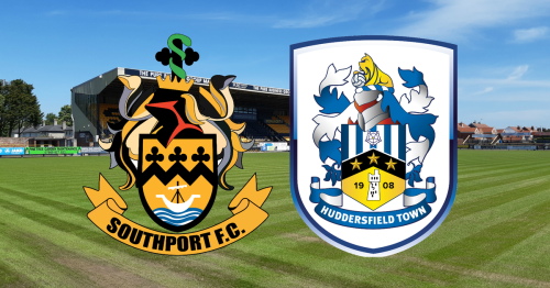 Southport vs Huddersfield Town LIVE updates