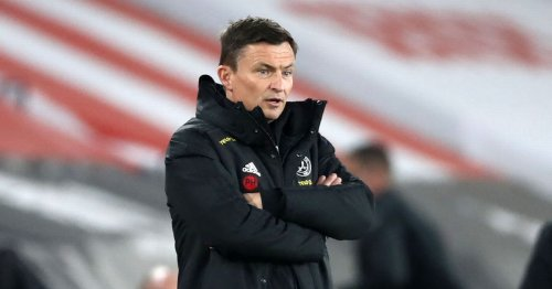 Paul Heckingbottom reacts to another woeful Sheffield United display