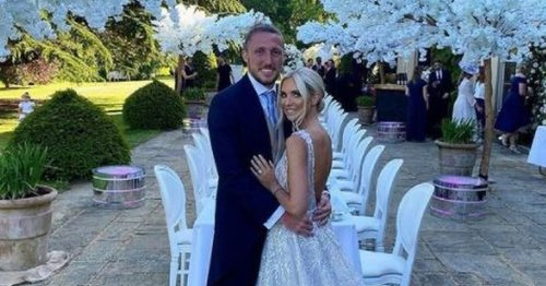 Leeds United star's lavish wedding with private Ellie Goulding show