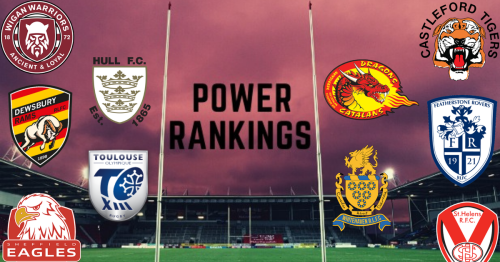 Rugby League Live Power Rankings - New club takes top spot