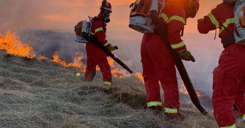 The penalties facing pair suspected of causing Marsden Moor fire
