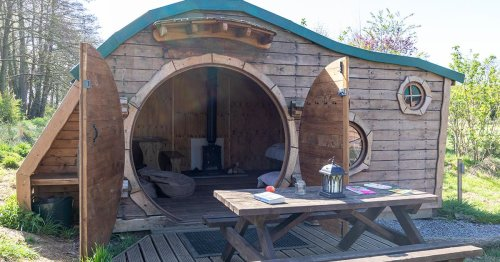 You can stay in cute Hobbit Houses hidden in the Yorkshire countryside