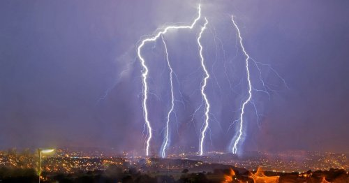 When thunder storms will hit West Yorkshire over the next 7 days