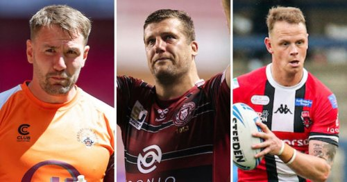 A list of Super League's retiring stars as rugby league says farewell to legends