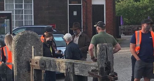 Harrison Ford injured in fight scene after filming in North Yorkshire