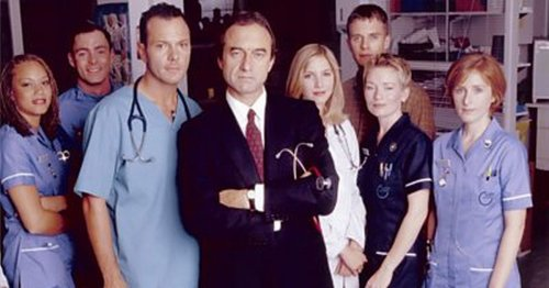 Where the cast of the original Holby City are now - from Postman Pat to Baftas