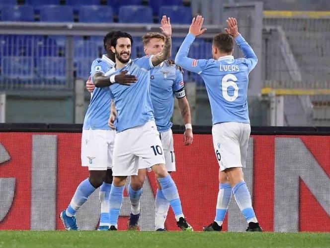 Lazio se impone por goleada en el Clásico de Roma