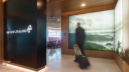 Qantas frequent flyers can now use some Air New Zealand lounges