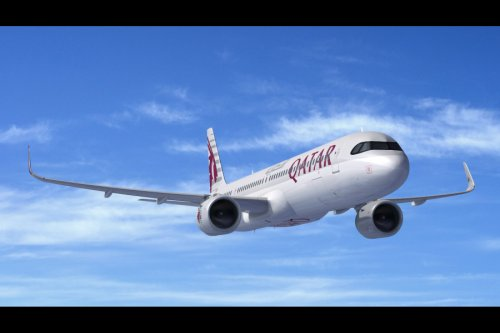 Qatar Airways A321neo delivery, business class, economy seating