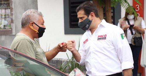 El candidato Francisco Cienfuegos anunció el programa Regio Trabajador